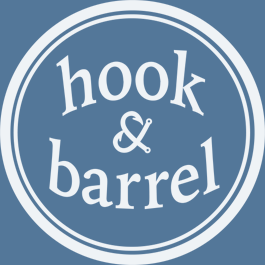 Hook & Barrel Restaurant Logo